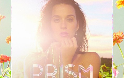 Katy Perry stuck in a Prism