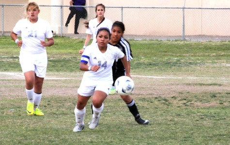 Girls soccer playoff game against Horizon