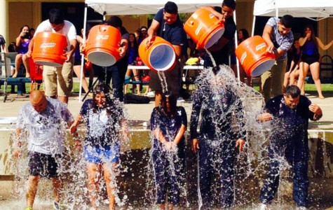 Campus takes the Ice Bucket Challenge