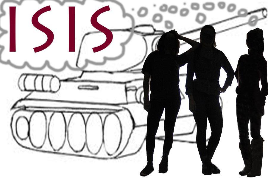 3 American girls try  to join ISIS