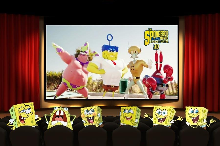 SpongeBob returns in new movie adventure