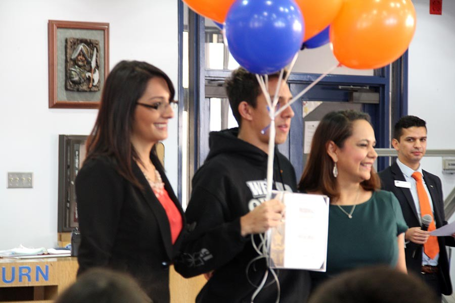11 students were recognized for winning a scholarship to Utep University.