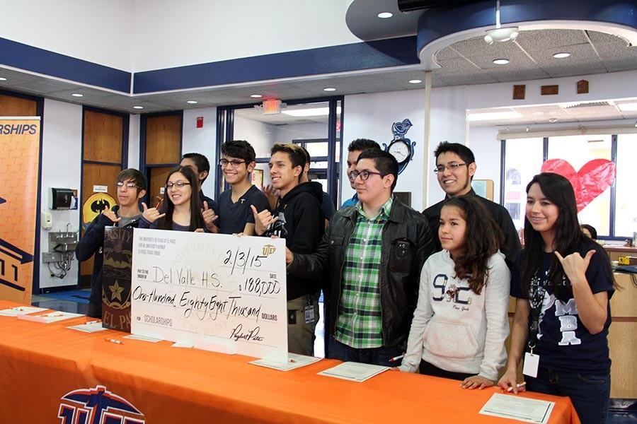UTEP awards scholarships