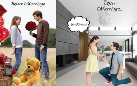 Valentine's Day through the years