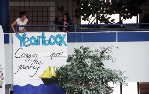 Yearbook theme urges students to Conquer the Journey