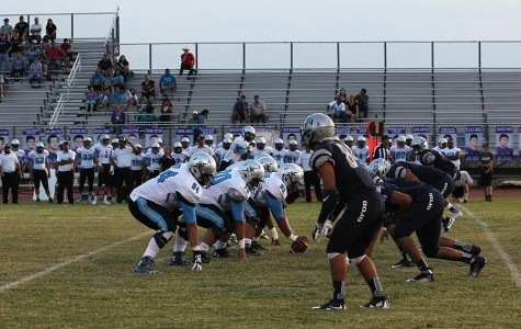 Big Bad Blue goes up against Rio Rancho, the team lost 52-36.