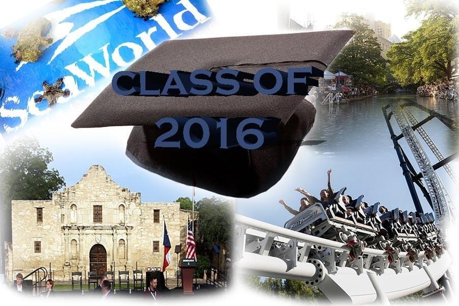 Destination San Antonio for first ever senior trip