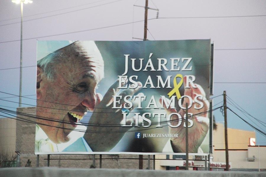 Pope Francis visits Juarez
