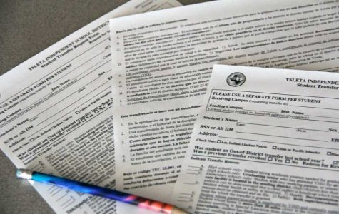 Transfer students must complete transfer forms annually.