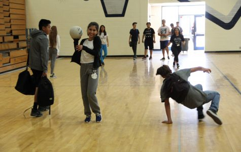 Students have fun during P.E classes