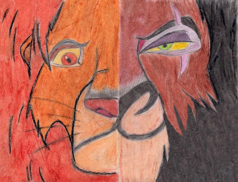 Simba+vs+Scar