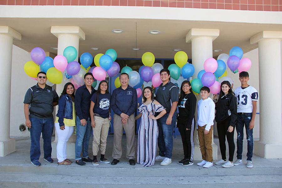 Homecoming+candidates+-+Michael%2C+Rhianna%2C+Julio%2C+Janet%2C+Antonio%2C+Marlenne%2C+Tristin%2C+Gabriela%2C+Andrew%2C+Dania%2C+and+Christian.+Royalty+was+announced+Sept.+1.