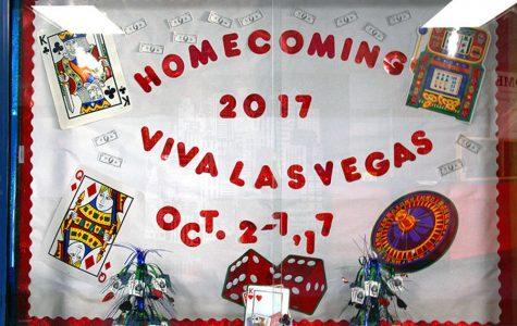 Vegas theme glams up Homecoming