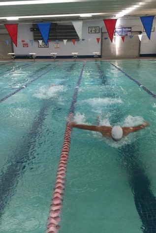 Swim team dives deep into season