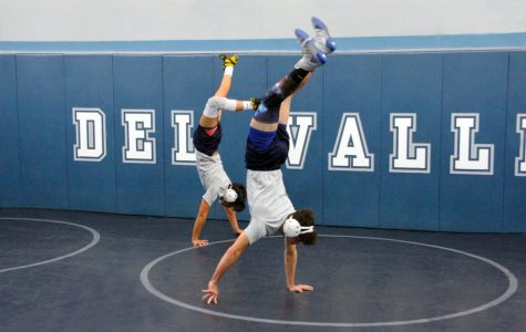 Wrestling team works hard for new season