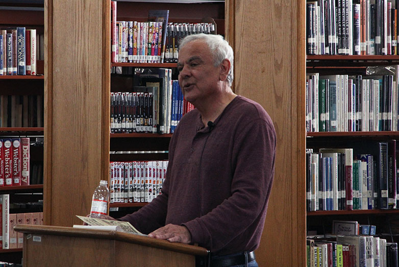 Author+Robert+Seltzer+presents+in+the+library%2C+Feb.+27.