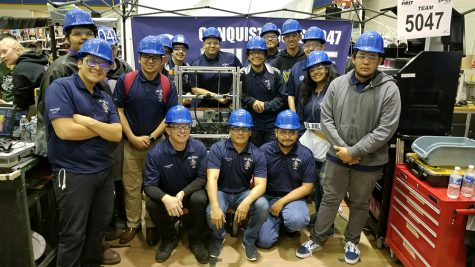 Conquistabots compete at FRC competition