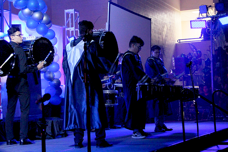 Senior+drum+line+plays+together+one+last+time.