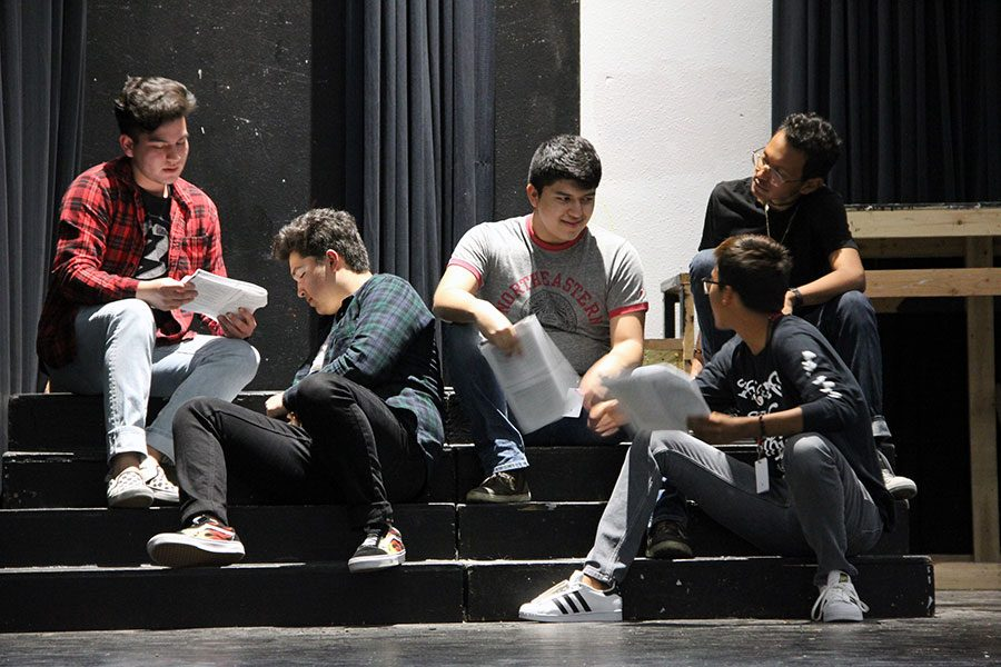 Theater students work hard to produce Grease