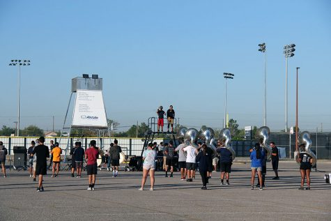 Band practices new set schedule