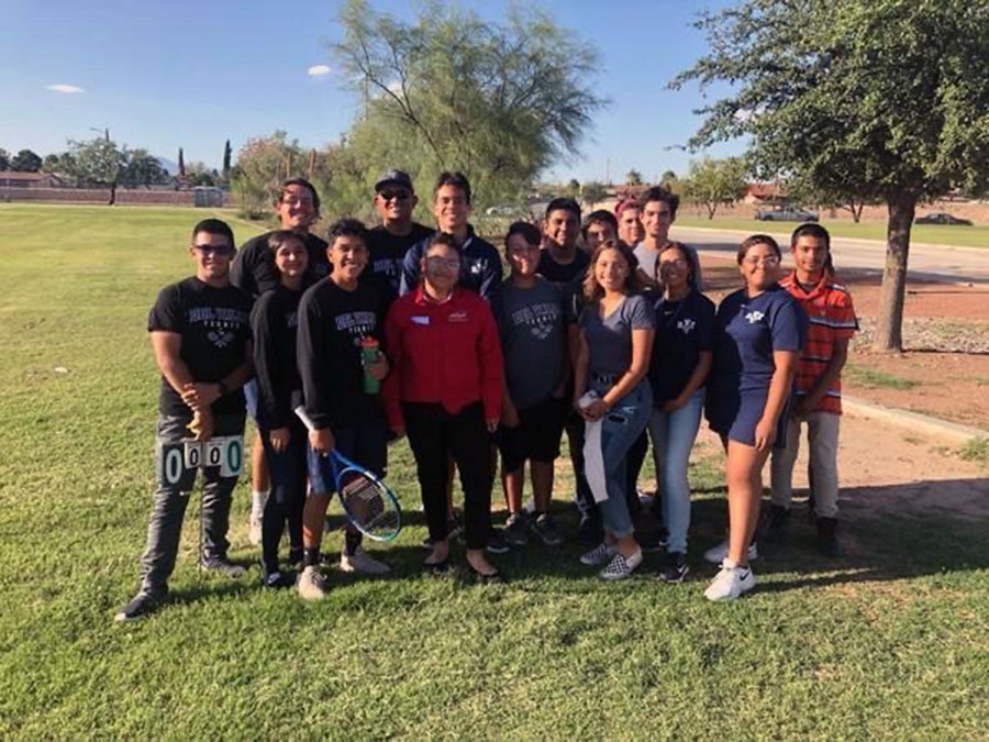 Tennis team makes big comeback