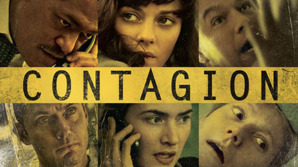 Contagion: fiction meets reality