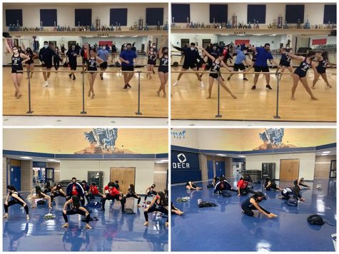 The first in-person practice for the 2020-2021 Fuego Dance team was Sept. 30.