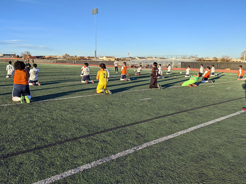 Men's varsity soccer team face new challenges