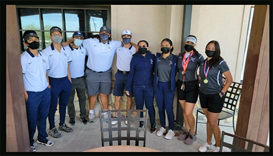 Golf team finds success in short season