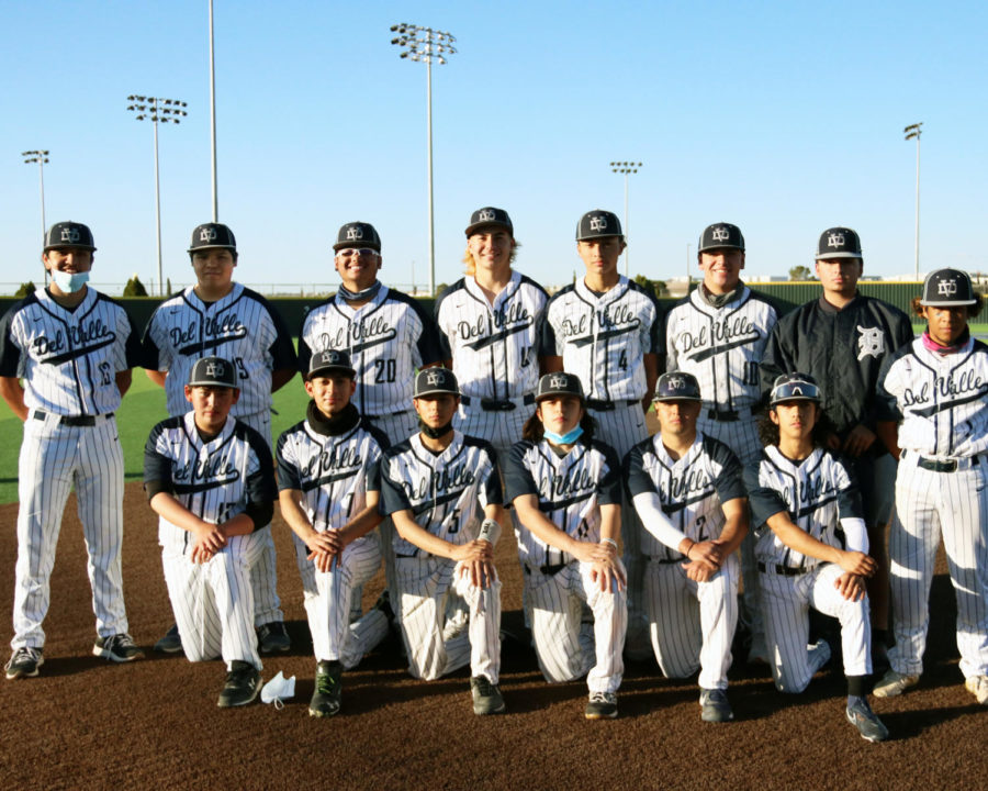 2020-2021 varsity baseball team.