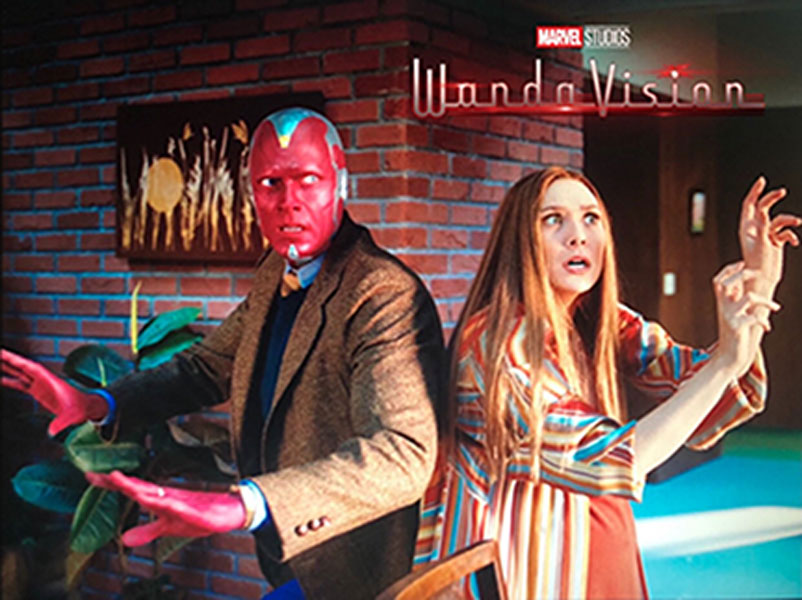 Marvel kicks off Phase 4 with their first TV show Wandavision on Disney +