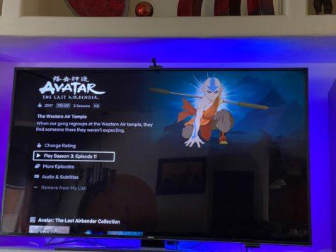 Avatar: the Last Airbender on Netflix.