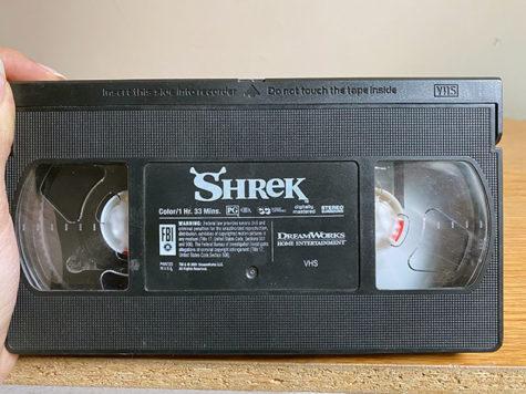 Classic VHS tape In celebration of 20 years of the legendary movie Shrek